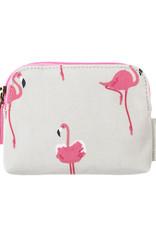 Sophie Allport Coin Purse Flamingos