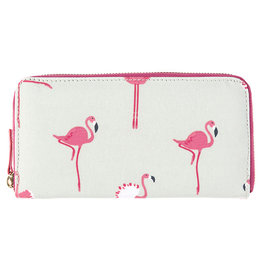 Sophie Allport Wallet Purse Flamingos