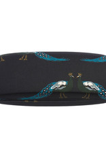 Sophie Allport Glasses Case Peacocks