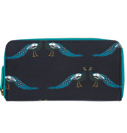 Sophie Allport Wallet Purse Peacocks