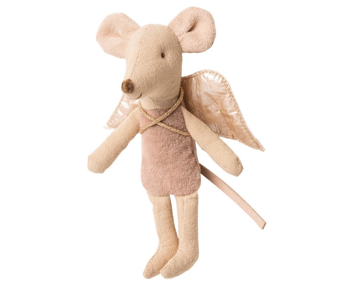 Maileg Fairy Mouse, Little Sister Mauve