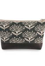 Red Staggerwing Cosmetic Clutch Small in Pincushion
