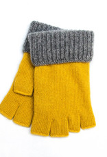 Santacana Wool and Cashmere Mitten Ocre
