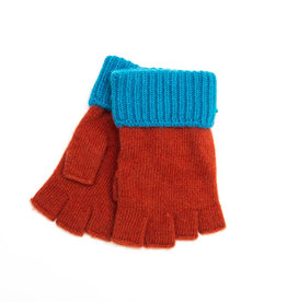 Santacana Wool and Cashmere Mitten Terracotta