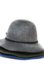 Santacana Cloche Felt Hat Green