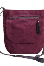 Helping Hand Partners Lucy Crossbody Bag in Bordeaux
