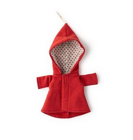 Hazel Village Doll Cranberry Elf Jacket