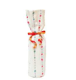 Kreatelier Bottle Gift Bag Pink Blue Dots