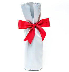 Kreatelier Bottle Gift Bag Silver
