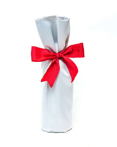 Kreatelier Bottle Gift Bag Silver