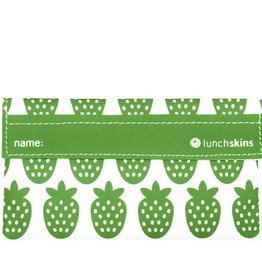 3greenmoms Reusable Snack Bag Green Berry (Velcro)