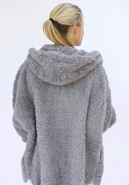 Nordic Beach Soft Body Wrap in Grey Kitten
