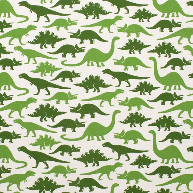 Winter Water Factory Tank Top Romper Dinosaurs Green