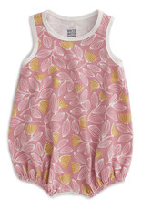 Winter Water Factory Bubble Romper Holland  Floral Pink & Yellow