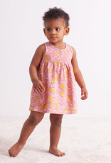 Winter Water Factory Oslo Baby Dress Holland Floral Pink & Yellow