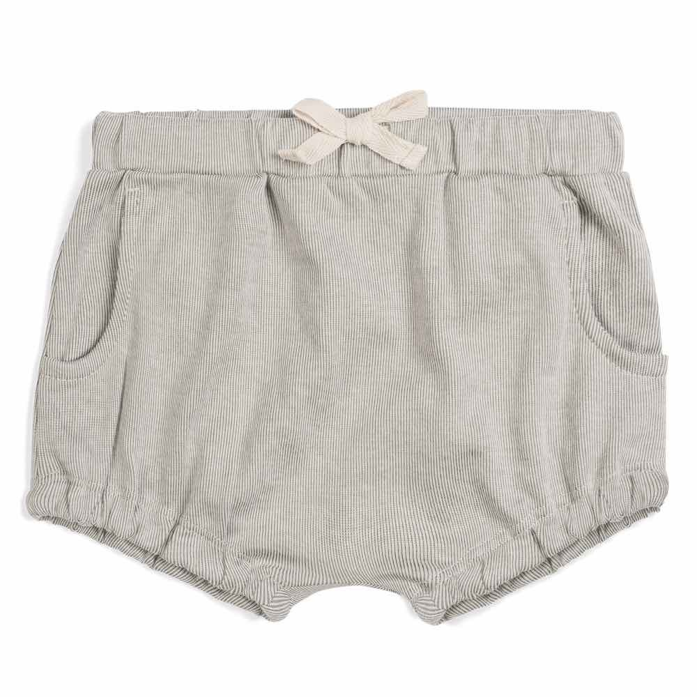 Milkbarn Pocket Bloomer Grey Pinstripe