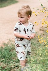 Milkbarn Shortall Orange Giraffe