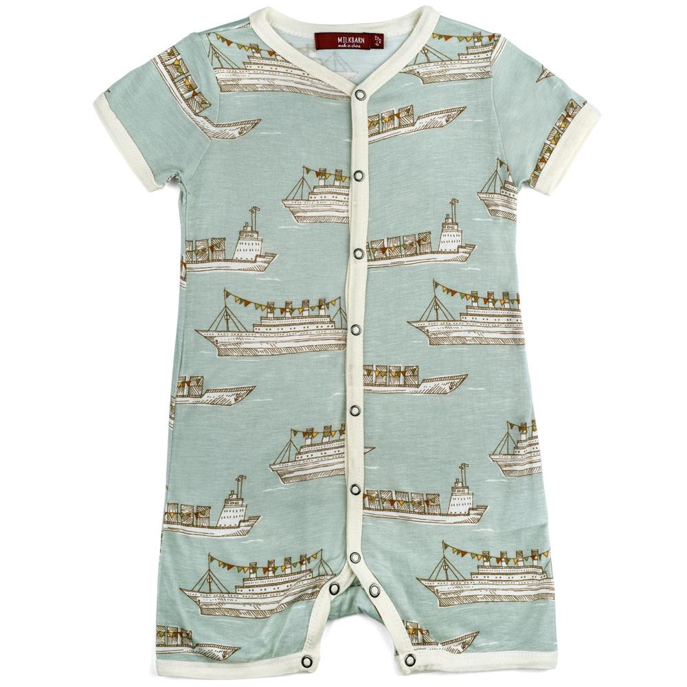 Milkbarn Shortall Blue Ships