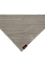 Milkbarn Organic Kerchief Bib Grey Stripe
