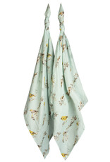 Milkbarn Bamboo Bundle Burpies Blue Bird