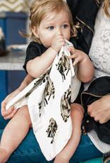Milkbarn Mini Lovey Grey Zebra