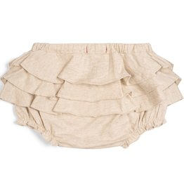 Milkbarn Ruffle Bloomer in Oatmeal