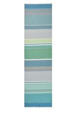 Daphne Striped Scarf Blue