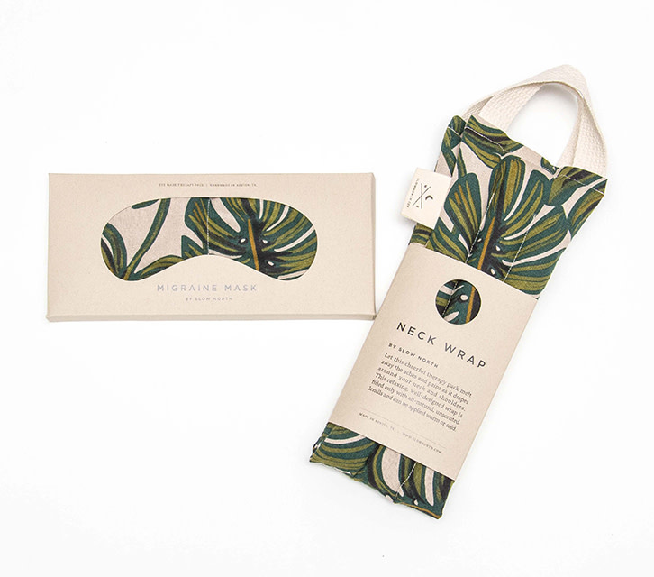 Slow North Eye Mask Therapy Pack Tropical Monstera