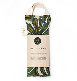 Slow North Neck Wrap Therapy Pack Tropical Monstera