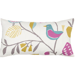 Kreatelier Folki Pillow in Multi 10 x 18in