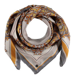 Fraas Scarf Vibrant Paisley Beige