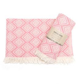 Pokoloko Turkish Towel Pyramid Pink