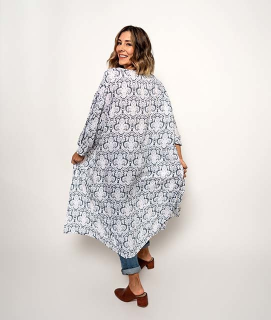 Pokoloko Kimono Duster Lace OS
