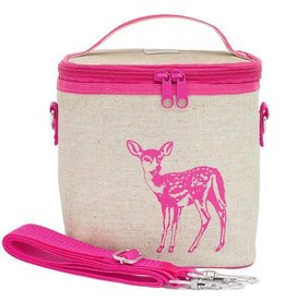 Small Cooler Bag Pink Fawn