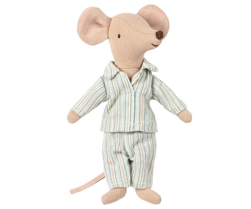 Maileg Mouse Big Brother Pyjamas in Box