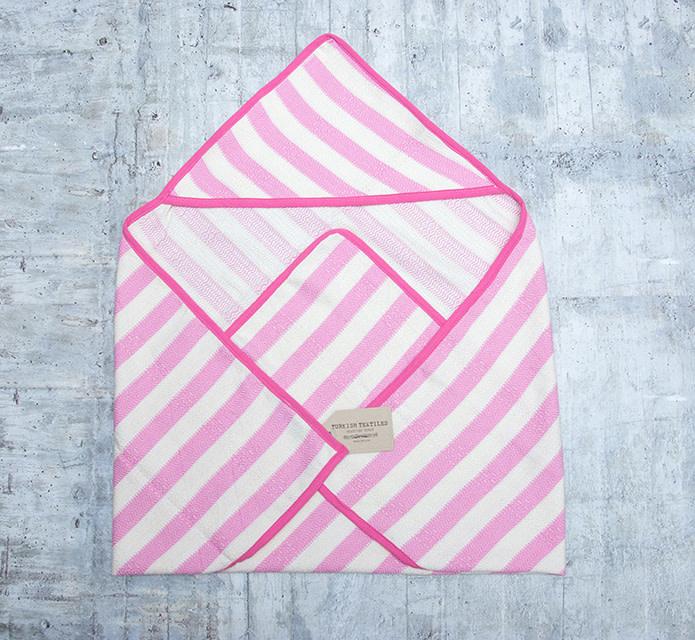 Pokoloko Hooded Kids Towel Pink