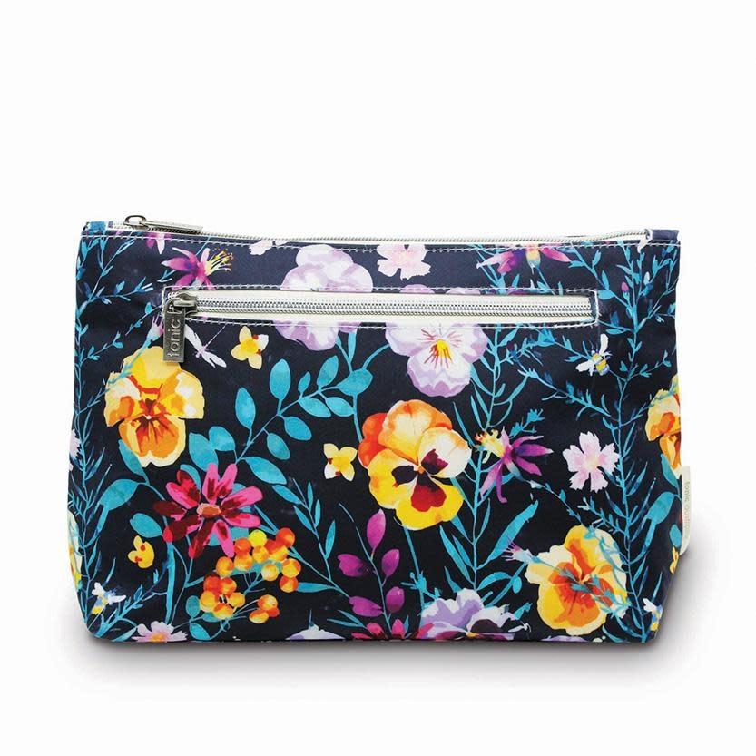 Tonic Australia Large Cosmetic Bag Evening Bloom