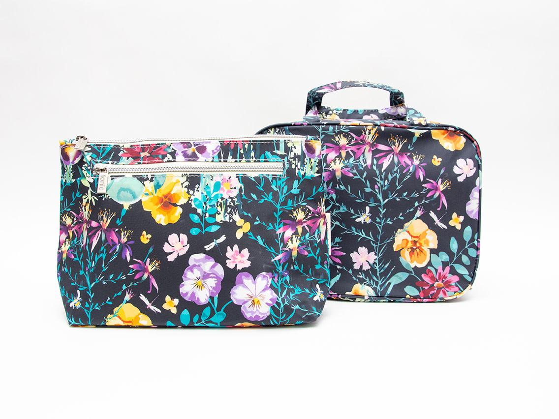 Tonic Australia Hanging Cosmetic Bag Evening Bloom