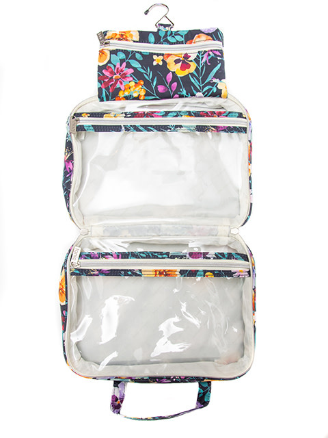 Tonic Australia Hanging Cosmetic Bag Evening Bloom