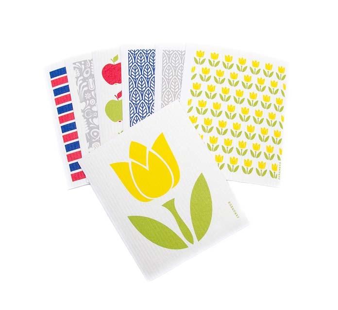 Esthetic Living Swedish Dishcloth Tulip Large Yellow