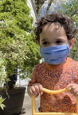 Kreatelier Small Children Face Mask Green
