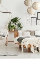 Allsop Home and Garden Pendant Stella Nova Boho Pearl 18'