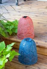 "Allsop Home and Garden Solar Lantern Stella Bell Ultramarine 8"""