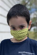 Kreatelier Big Children Face Mask Blue and White Stripes