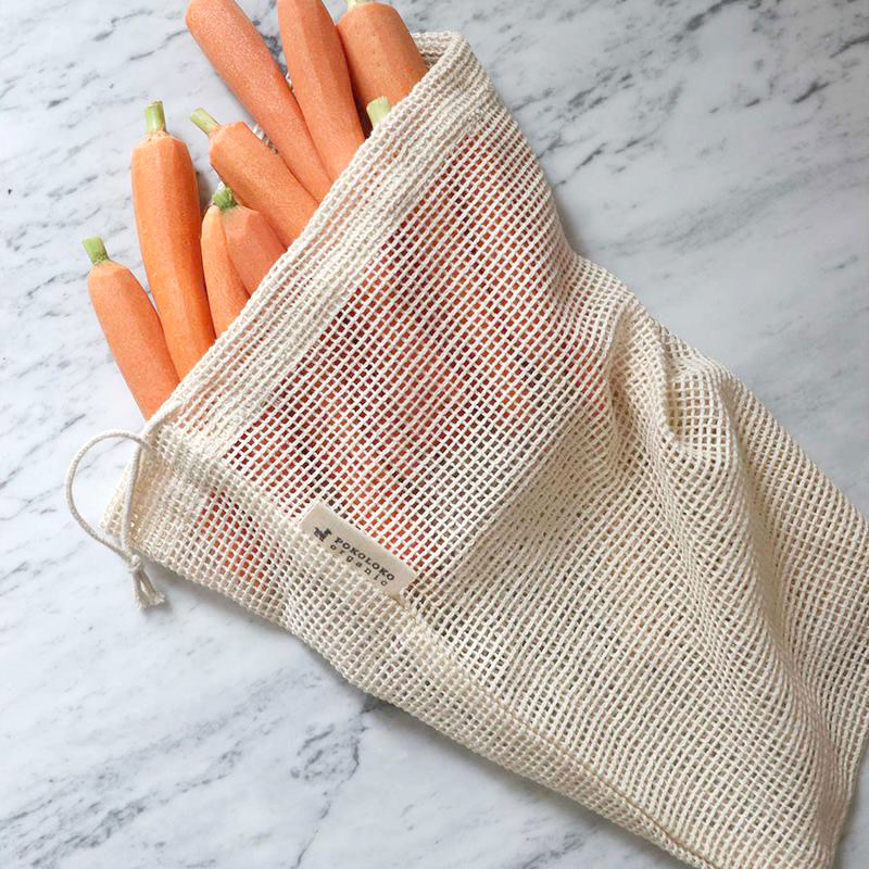 Pokoloko Organic Mesh Eco Bag 10 x 12 Natural