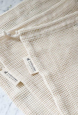 Pokoloko Organic Mesh Eco Bag 10 x 12 Natural