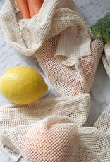 Pokoloko Organic Mesh Eco Bag 12 x 15 Natural