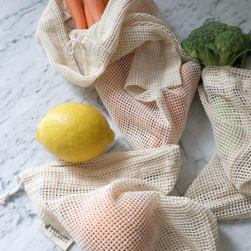 Pokoloko Mesh Eco Bag 12 x 15 Natural