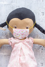 Kreatelier Face Mask for Dolls Rainbow
