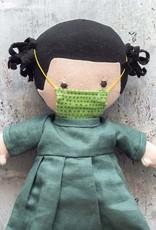 Hazel Village Doll Nell in Green Dress